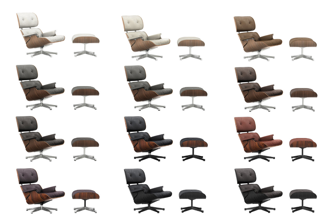 Lounge Chair Und Ottoman Beauty Edition 2015